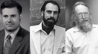 Bob Kahn, Vint Cerf, Jon Postel