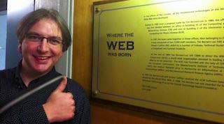 Where the web was born