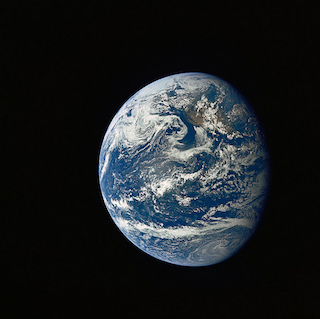 Apollo 11 Mission Image - Earth view over Central and North America