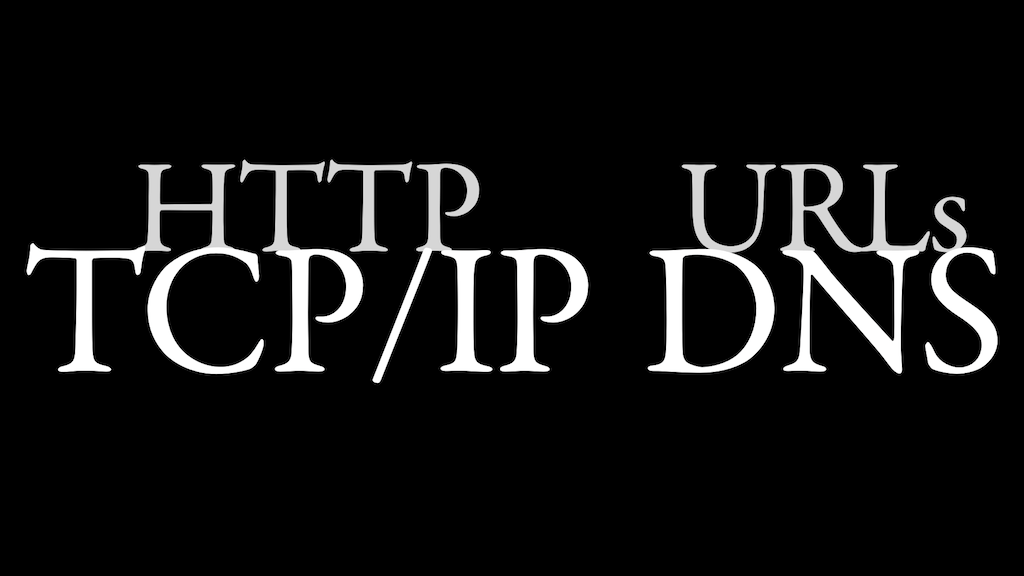HTTP upon TCP/IP; URLs upon DNS.