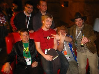 Tantek Çelik, Brian Suda, Ryan King, Chris Messina, Mark Norman Francis, and Jeremy Keith.