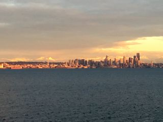 Seattle sunset.