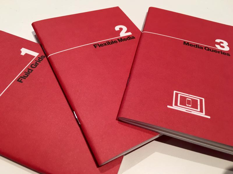 Loving my @ResWebDes notebooks—cheers, @JustinAvery!