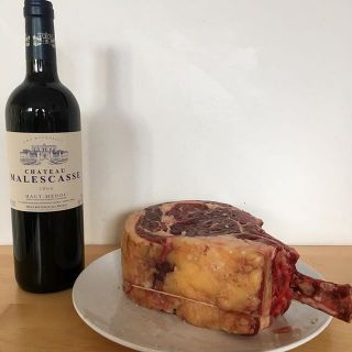Beef and Bordeaux. Meat and Medoc. Cattle and Claret.