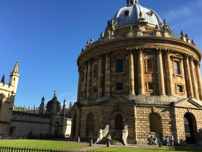 Bodleian go where no one has gone before.