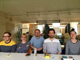 Stripe Day in @Clearleft Towers.