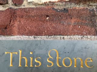 This stone.