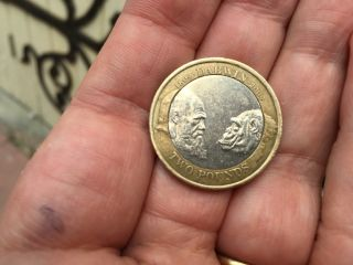 Scored a Darwin coin today.