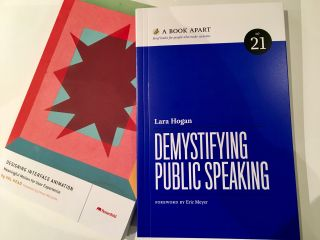 Got hold of a couple of superb books from @vlh and @lara_hogan.