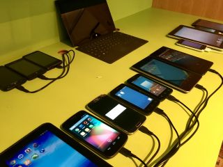 Organising @Clearleft's open device lab, and adding some more devices (inspired by @slightlylate).