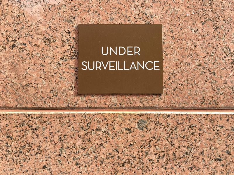 """UNDER SURVEILLANCE"" —60 Hudson, New York"
