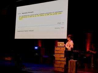 Shout out to Jon Postel in @PattyToland's talk at @BTconf.