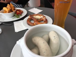 "Checked in at Munich Franz Josef Strauss Airport (MUC) (Flughafen München ""Franz Josef Strauß""). One last taste of Germany before the flight home."