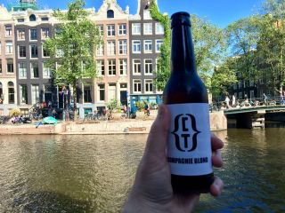 Cooling down in Amsterdam after a day of Browser API talks ahead of tomorrow's CSS Day.
