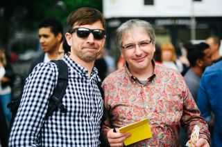 Me and @Boxman at Patterns Day.