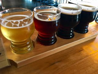 Checked in at Eastlake Craft Brewery. A flight before my flight.