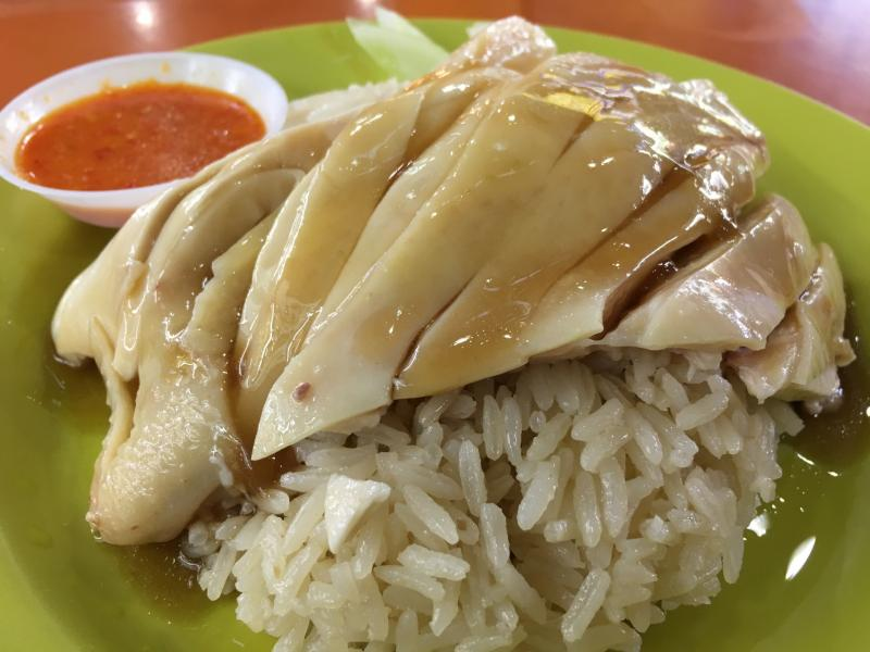 Checked in at Tian Tian Hainanese Chicken Rice 天天海南鸡饭