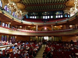 Checked in at Palau de la Música Catalana. Smashing Conf.