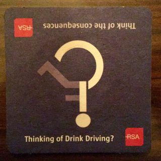 On-point beermat graphic design.