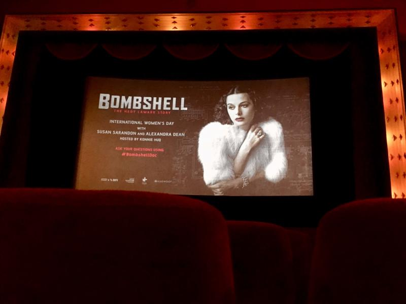 Checked in at Duke of York's Picturehouse for Bombshell: The Hedy Lamarr Story. Bombshell