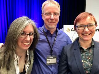 It's Gridapolooza time at @AnEventApart Seattle: @RachelAndrew, @MeyerWeb, and @JenSimmons back to back!
