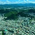 Taipei from above.