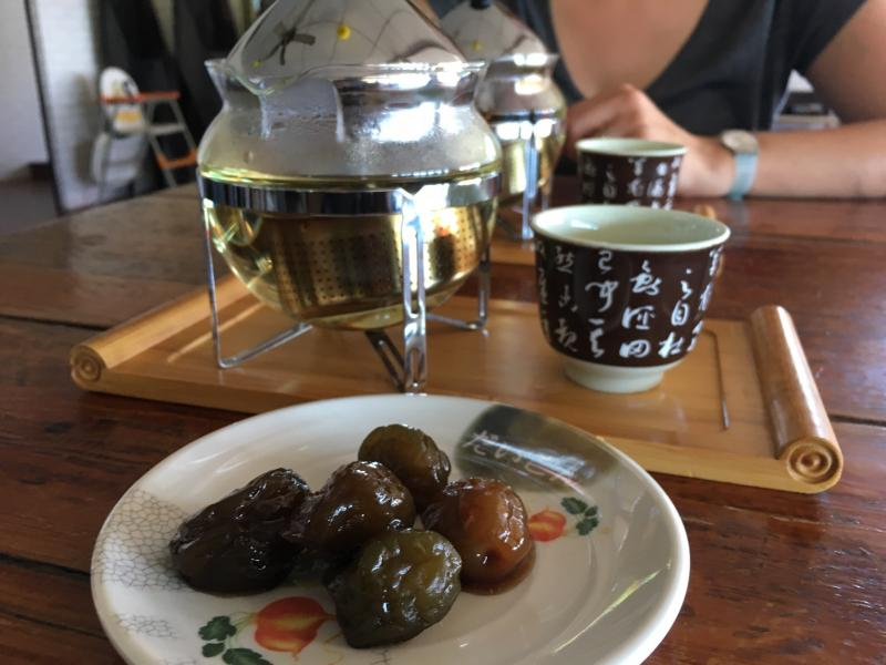 Checked in at 正大休閒茶園. Tea for two — with Jessica