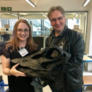Myself and @dhuntrods really enjoyed our visit to the digitisation department in the Natural History Museum. Thanks, Jen, Josh, Robin, Phaedra, and @scuff_el!