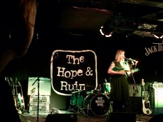Checked in at The Hope and Ruin. She Makes War