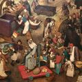 Heading back to England after flying to Vienna for an important meeting …with Pieter Bruegel the Elder.