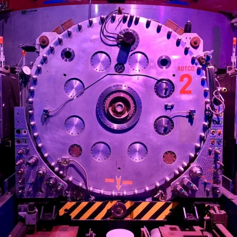 The Syncrocyclotron.