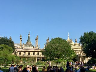 Checked in at Royal Pavilion Gardens. with Jessica