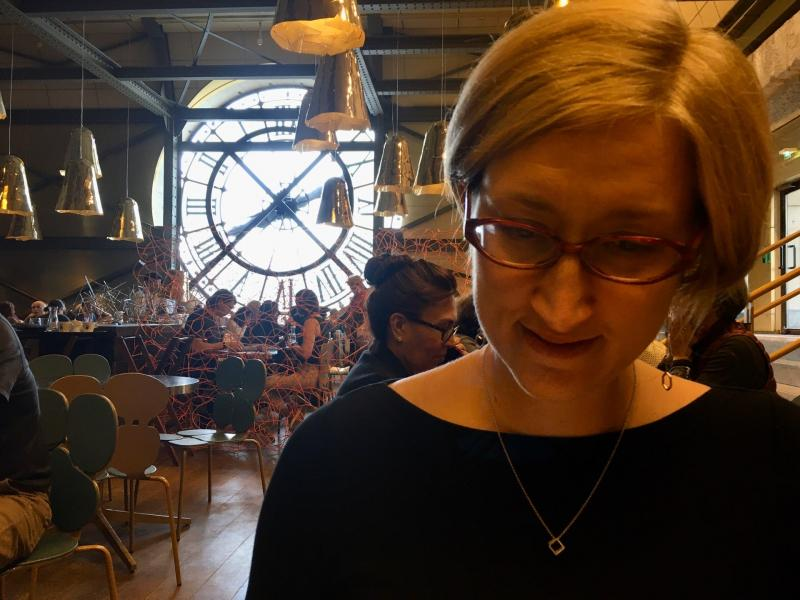 Checked in at Café Campana. In the musée d'Orsay — with Jessica