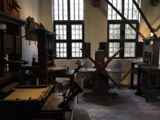 Checked in at Museum Plantin-Moretus / Prentenkabinet (Museum Plantin-Moretus | Prentenkabinet). with Jessica