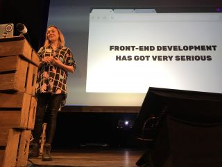 Wow! @CassieCodes gave *such* a great talk at @BTconf—truly inspiring!
