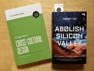 Got some great books in the post from @Senongo and @Dellsystem—thanks, @ABookApart and @RepeaterBooks!