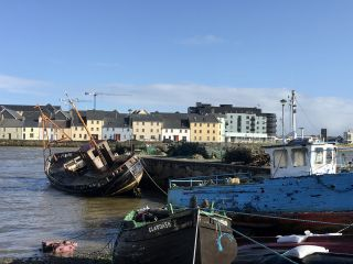 A surprisingly sunny day in Galway.