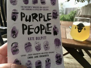 Reading Purple People by Kate Bulpitt.