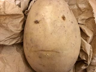 Creepy potato.