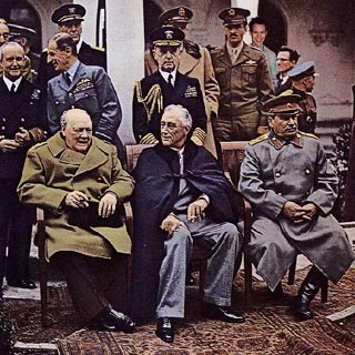 Churchill, FDR, Stalin and (somewhere) Durtsan