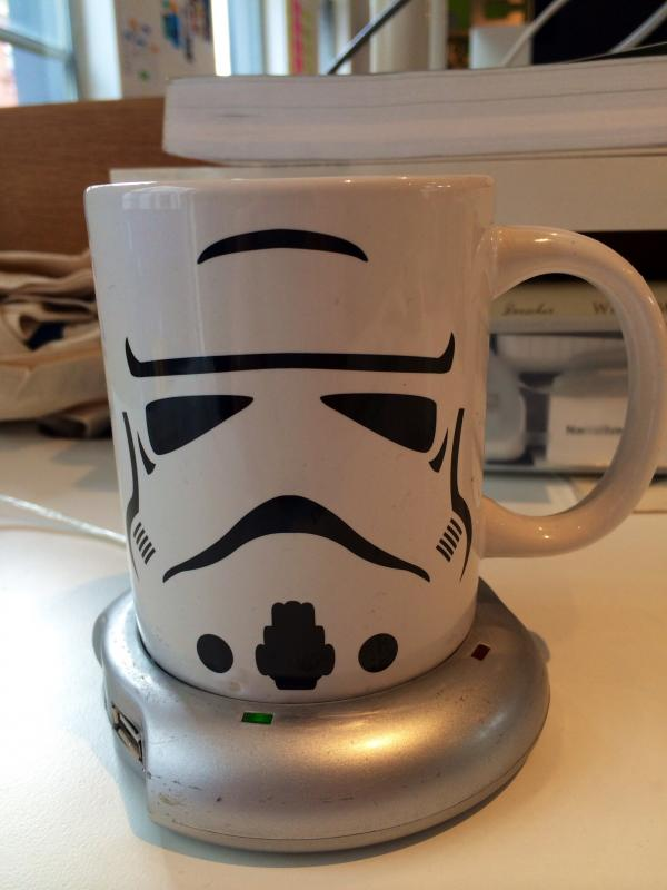 A new tea mug, courtesy of @anna_debenham.