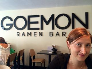Went to Goemon Ramen Bar on Preston Street with @wordridden: highly recommend it.