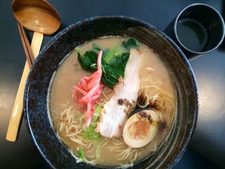 Ramen from Goemon for lunch again today—easily the best in Brighton.