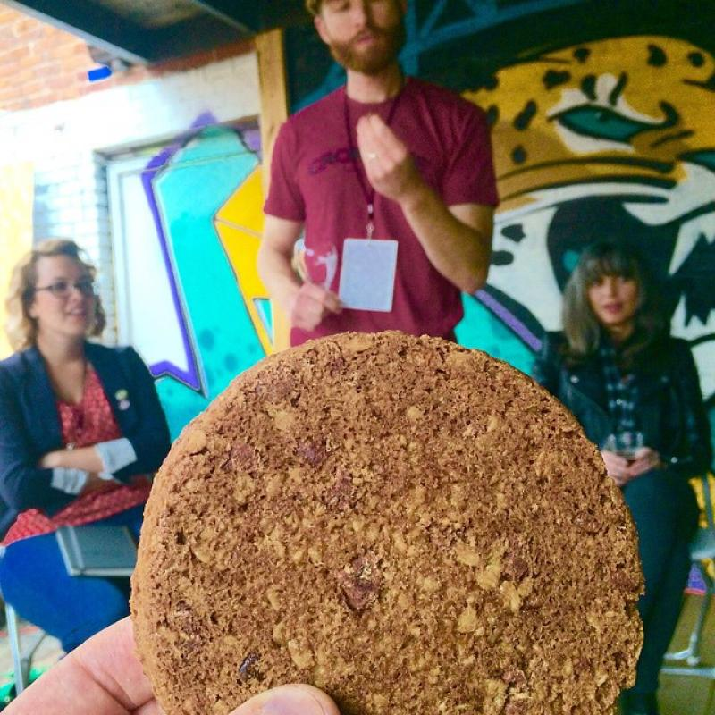 Cookie and beer talk at ConvergeFL.