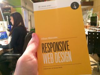 Taking delivery of a second-edition @beep book.