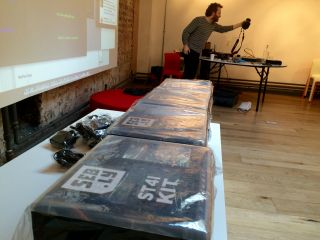 Getting ready to workshop with @Seb_ly.