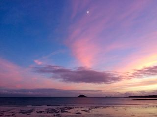 Ballycotton lighthouse at dusk I.