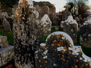 The old cemetery in Cobh.