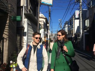 Had a wonderful day getting the @CraigMod tour of Tokyo with @WordRidden.