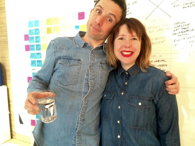Denim day at @Clearleft Towers.